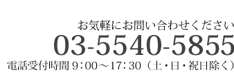 03-5540-5851